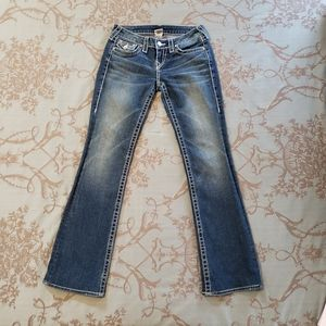 True Religion Disco Becky Big T Jeans Size 26